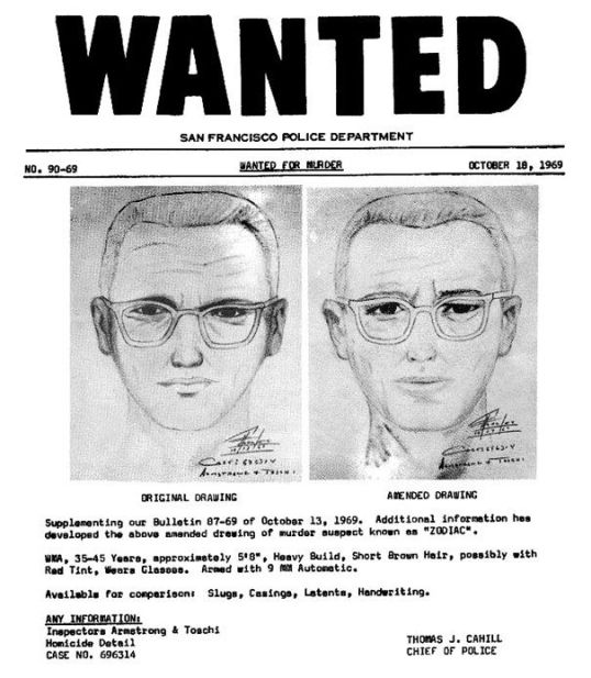 Paul Stine police sketch